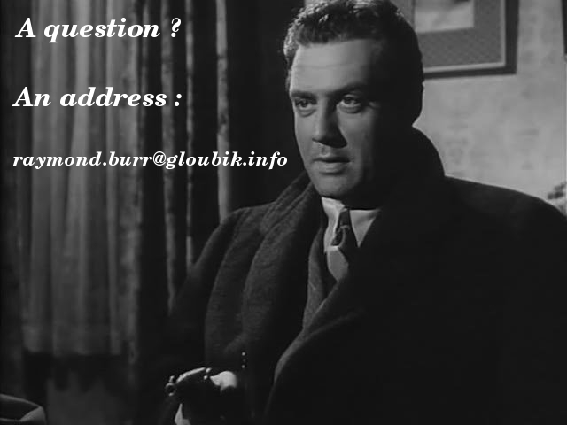 raymond burr and robert benevides pictures